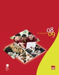 AR 08-09 front cover - Institute of Technical Education