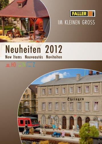 Neuheiten 2012 - Lokshop