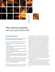 Chapter 4 The control systems: nervous and endocrine