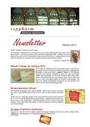 Newsletter - Rathaus Apotheke - Apotheken