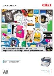 Die Zukunft des Digitaldrucks ist...BRILLIANT ... - Faber GmbH