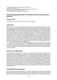 Proceedings of the 1st Central-European Diatom Meeting 2007
