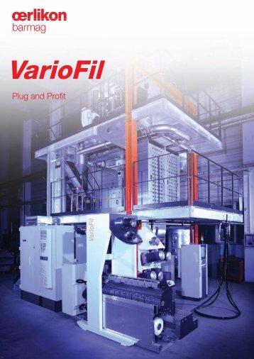 VarioFil - Oerlikon Barmag - Oerlikon Textile