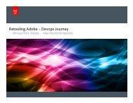 Retooling Adobe – Devops Journey - Cdn.oreilly.com