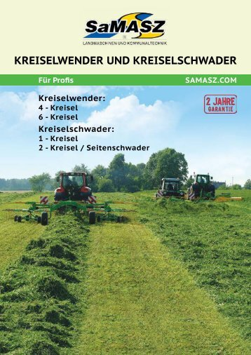 Prospekt Samasz Kreiselschwader/Heuer - VOGA GmbH