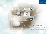 KLEIN MIT GROSSER WIRKUNG. - Villeroy & Boch