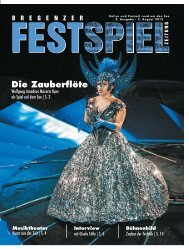 Festspielzeitung - Vorarlberg Online