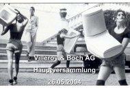 2002 - Villeroy & Boch