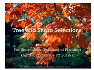 Tree and Shrub Booklet