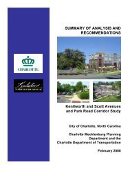 SUMMARY OF ANALYSIS AND RECOMMENDATIONS Kenilworth ...
