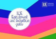Enrolment and Induction Guide (pdf) - Institute of Education ...