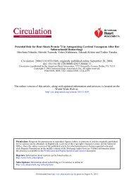 Stroke - Circulation