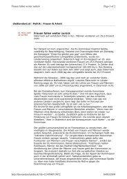 Page 1 of 2 Frauen fallen weiter zurück 04/03/2009 http ...