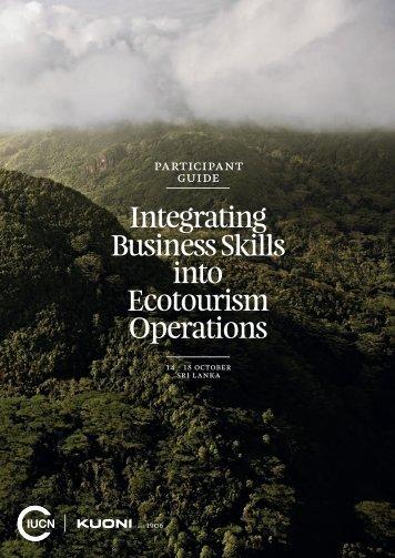 Integrating Business Skills into Ecotourism Operations ... - IUCN