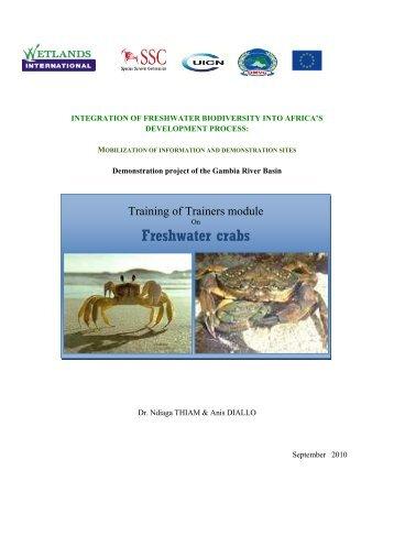 Freshwater Crabs - IUCN