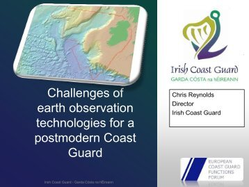 European coast guards requirements on space based surveillance