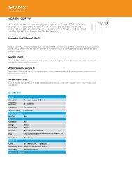 Manufacturer Brochure