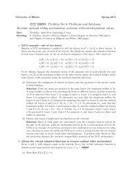 ECE 586BH: Problem Set 6: Problems and Solutions Revenue ...