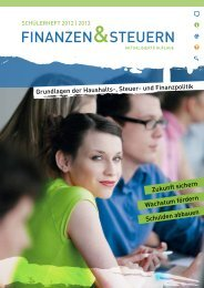Schülerheft 2012/2013 - Jugend und Bildung