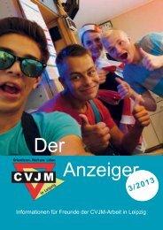 Anzeiger Der - CVJM Leipzig