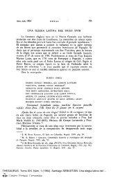 Una elegía latina del siglo XVIII