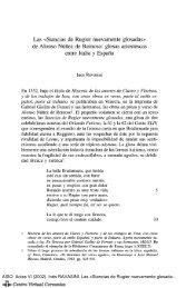 Las «Stancias de Rugier nuevamente glosadas» de Alonso Núñez ...