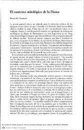 El contexto mitológico de la Diana - Centro Virtual Cervantes