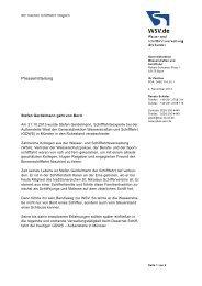 Stefan Gerdelmann geht von Bord - WSV