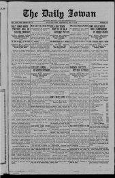 May 15 - The Daily Iowan Historic Newspapers - University of Iowa