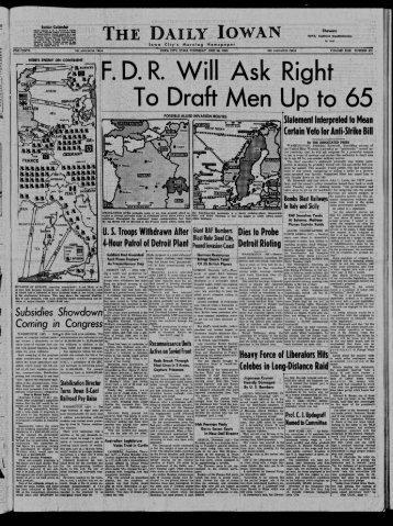 June 24 - The Daily Iowan Historic Newspapers - University of Iowa