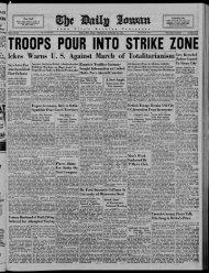 (Iowa City, Iowa), 1938-10-20 - The Daily Iowan Historic Newspapers