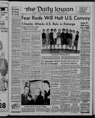 (Iowa City, Iowa), 1961-12-07 - The Daily Iowan Historic Newspapers