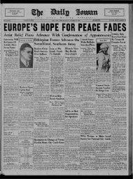 Daily Iowan (Iowa City, Iowa), 1935-10-17 - The Daily Iowan Historic ...