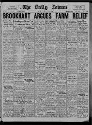 April 4 - The Daily Iowan Historic Newspapers - University of Iowa