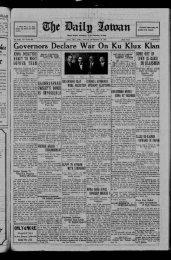 (Iowa City, Iowa), 1922-12-15 - The Daily Iowan Historic Newspapers