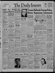 April 15 - The Daily Iowan Historic Newspapers