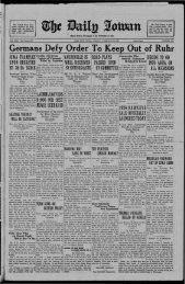February 13 - The Daily Iowan Historic Newspapers - University of ...