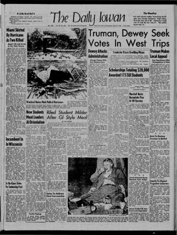 Daily Iowan (Iowa City, Iowa), 1948-09-22 - University of Iowa