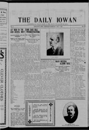 May 9 - The Daily Iowan Historic Newspapers