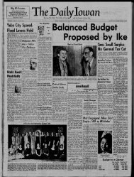 January 17 - The Daily Iowan Historic Newspapers - University of Iowa