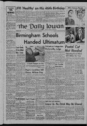 May 29 - The Daily Iowan Historic Newspapers - University of Iowa