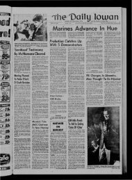 February 23 - The Daily Iowan Historic Newspapers
