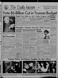 February 12 - The Daily Iowan Historic Newspapers - University of ...