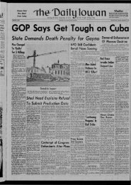 September 13 - The Daily Iowan Historic Newspapers