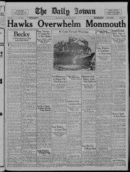 (Iowa City, Iowa), 1927-10-02 - The Daily Iowan Historic Newspapers