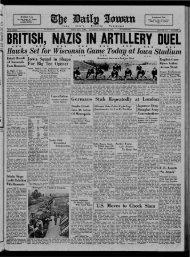 (Iowa City, Iowa), 1940-10-12 - The Daily Iowan Historic Newspapers