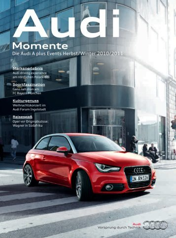 Audi A plus Events Herbst 2010 - PDF