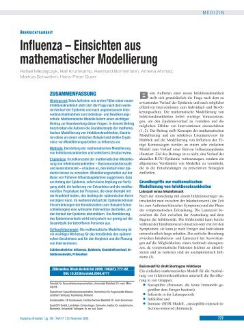 Influenza – Einsichten aus mathematischer Modellierung
