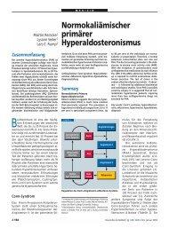 Normokaliämischer primärer Hyperaldosteronismus