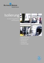 Isolierung - Bilfinger Berger Industrial Services